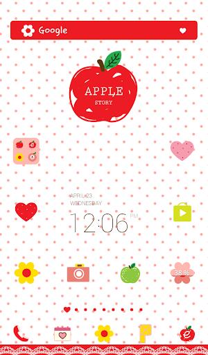 apple story dodol theme