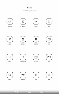 Inverse Icon Pack v1.6.2