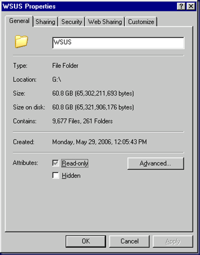 09-03-02 WSUS Downloads at 60GB