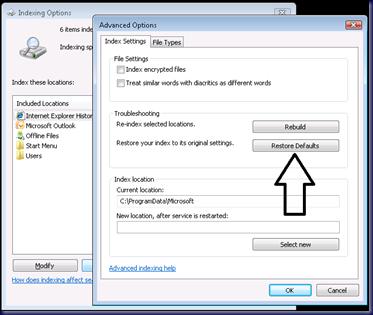 MPECS Inc  Blog: Outlook 2010 – Search Is Broken?
