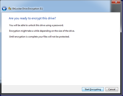 09-10-14 BitLocker To Go - 9 - Are You Ready To Encrypt