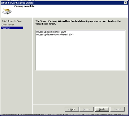 MPECS Inc  Blog: The WSUS Cleanup Wizard on SBS 2003 and SBS