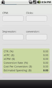 Ads CPM and CPC Calculator screenshot 2