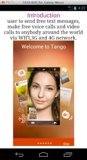 FREE VIDEO CALL TIPS FOR TANGO