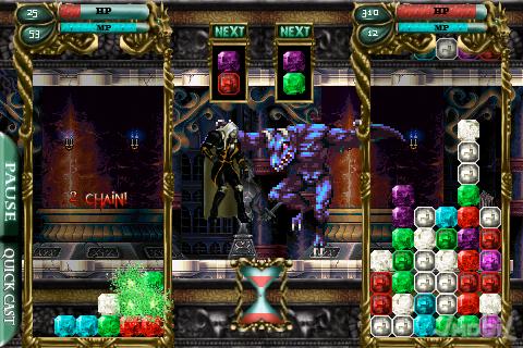 33023-castlevania-puzzle-encore-of-the-night Castlevania para iPhone é bem diferente do esperado