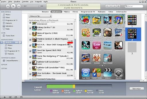 imagem Review Gamer: iPod Touch 4G