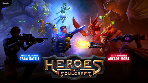Heroes of SoulCraft - MOBA 1.9.0 DreamHackers 1