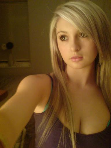 Blonde girls on facebook Goes!