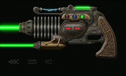 蒸汽朋克射線槍激光槍