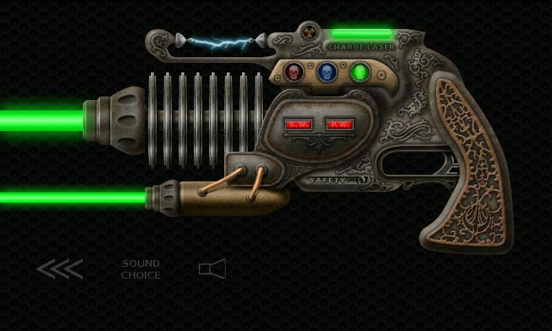 Laser Guns Steampunk Ray Guns - screenshot