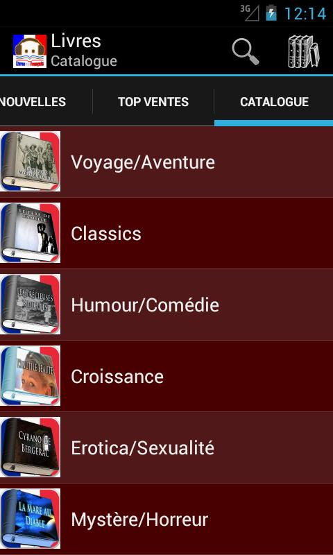 Livres en fran ais android apps on google play - Open office android francais ...