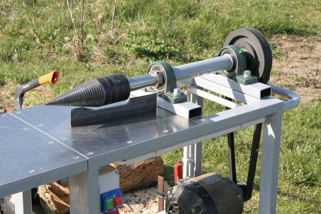Ganz und zu Extrem Eigenbau Drillkegelspalter • Landtreff &HZ_49