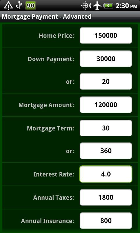 Mortgage Pro- screenshot