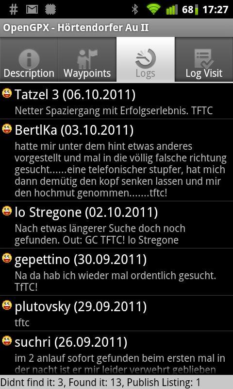 OpenGPX- screenshot
