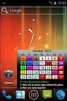 Screenshot of CalendarLab calendar