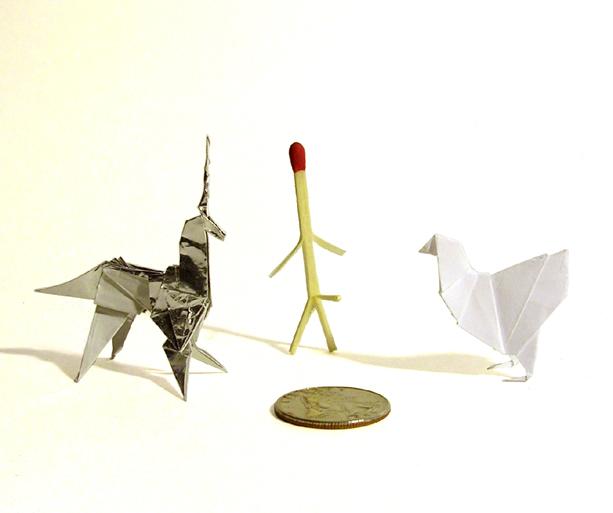 Blade Runner Origami Unicorn Pin: Blade Runner Origami Set(chicken, Matchstick, Unicorn