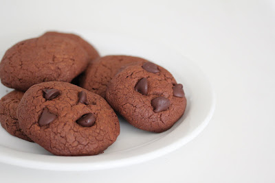 photo of a cookies on a plate