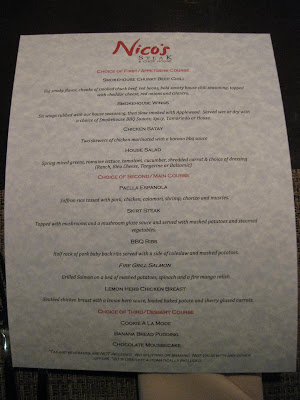 Nico's Steakhouse Restaurant Week Preview