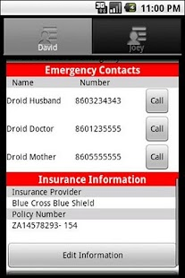 Emergency Information ICE Plus - screenshot thumbnail