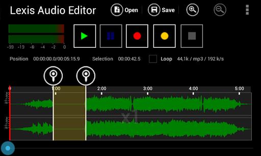 PC u7528 Lexis Audio Editor 1