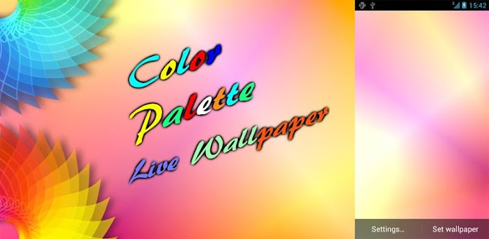 Color Paint Live Wallpaper