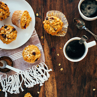 One-Bowl Carrot-Spice Oatmeal Muffins