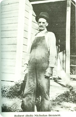 Bennett Robert Nicholas on farm