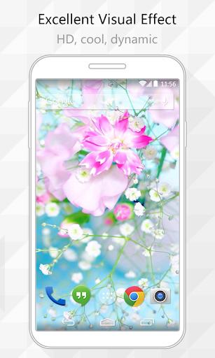 Fresh Flower Live Wallpaper
