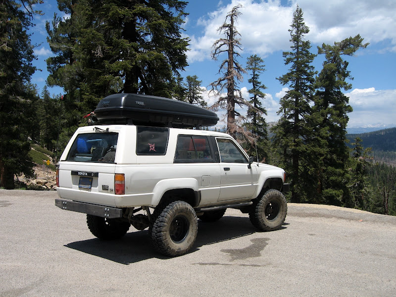 4 Runner with an Old Man Emu lift