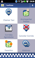 Screenshot of BH Táxi