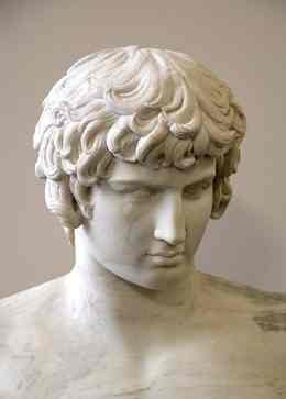 Bust of Antinous, 130–140 CE