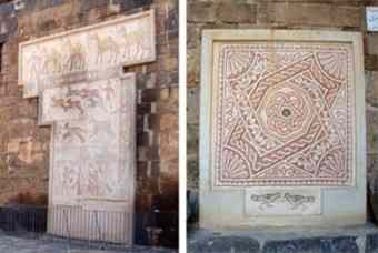 Bosra Archaeological Museum Displays 1117 Precious Statues & Mosaics