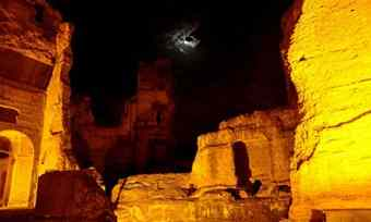 After dark tours at Rome's ancient baths
