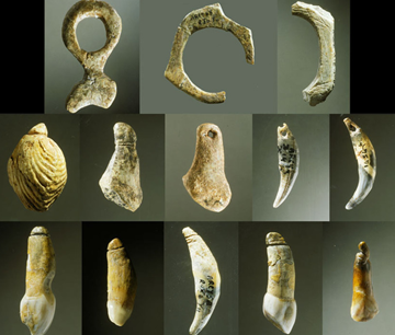 Who made these? Ornaments long attributed to Neandertals might have been made by modern humans instead.