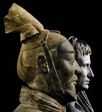 Roman and Chinese Empires come together in art exhibit in Italy