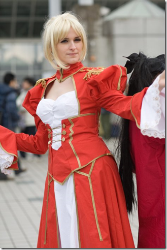 fate/stay night cosplay - saber 04