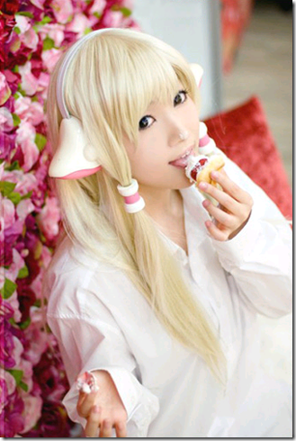 chobits cosplay - chi 08