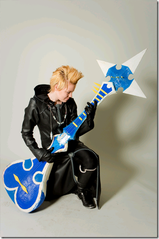 kingdom hearts 358/2 days cosplay - demyx