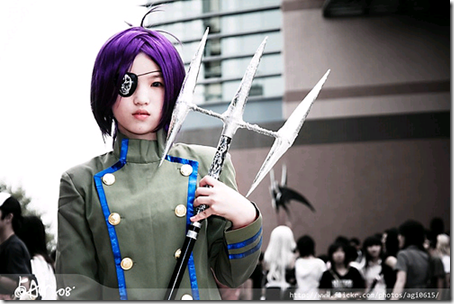 katekyo hitman reborn! cosplay - chrome dokuro