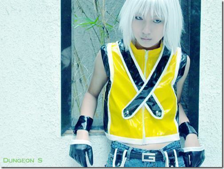 kingdom hearts cosplay - riku