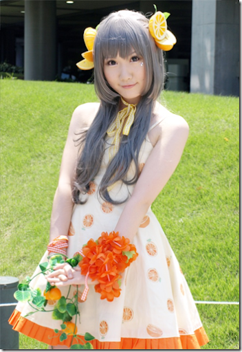 unknown cosplay 85 from winter comiket 2010 / ne~pon? x raipon! cosplay - citrus