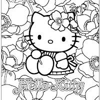 Kitty Y Sus Amigos Laminas Para Pintar
