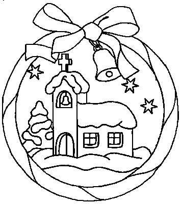Imagenes De Adornos De Navidad Para Colorear.Adornos De Navidad Para Pintar En Navidad