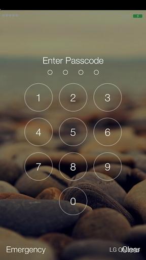 Lock Screen Iphone - IOS 8