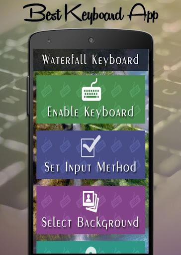 Waterfall Keyboard
