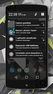 Lollipop 5.0 Dark Theme- screenshot thumbnail