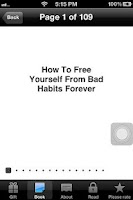 Screenshot of How To Remove Bad Habits App