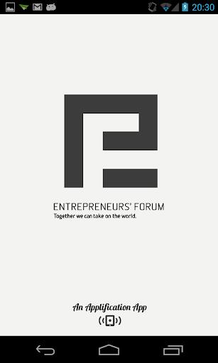 Entrepreneurs' Forum