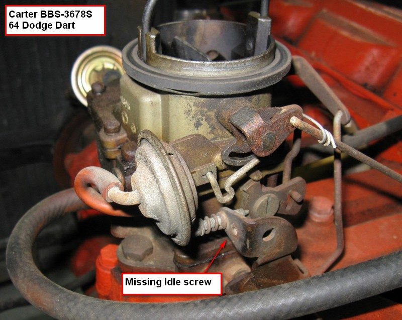 Chrysler /6 carb replacement - Page 2 - Technical - Antique