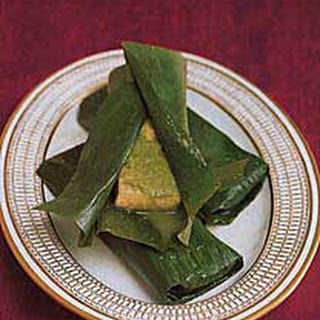 Bombay Fish Steamed in Banana Leaves